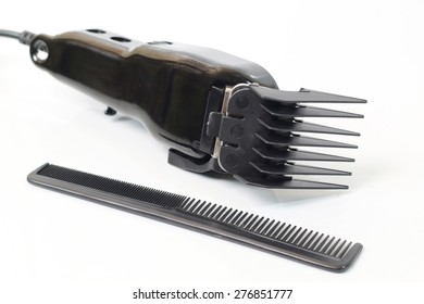 hair clipper isolated on white background