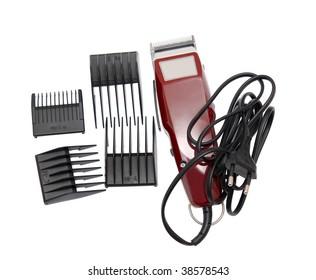 Hair clipper n a white background