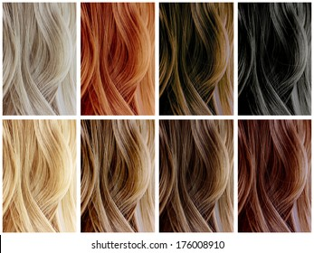Hair Color Images Stock Photos Vectors Shutterstock