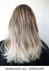 hair coloring in a complex technique
