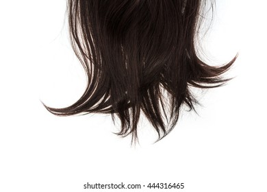 hair on isolated background