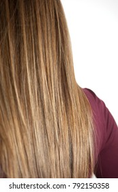 hair with smooth fold