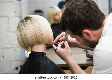 Male Hair Cut Images, Stock Photos & Vectors | Shutterstock