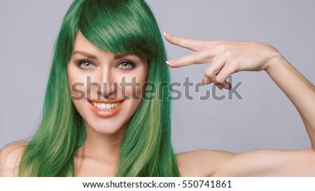 Hairdresser Cutting Woman Bangs Hair Shop Stock Photo Edit Now
