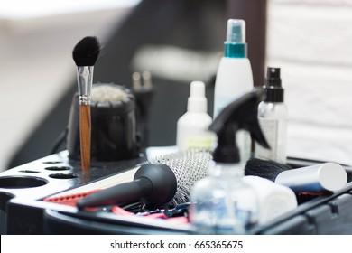 hair-dressing details