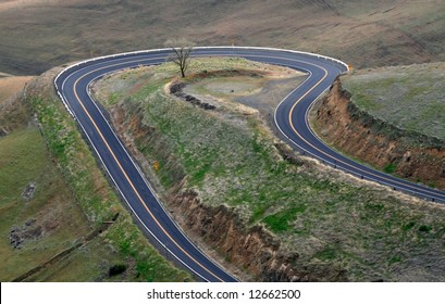 Hairpin Turn Road