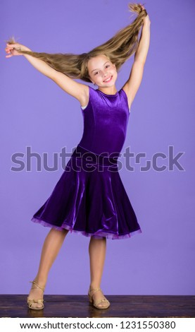 Hairstyle Dancer How Make Tidy Hairstyle Stock Photo Edit Now