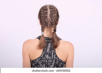 French Braid Images Stock Photos Vectors Shutterstock
