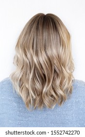 Hairstyle ombre color .Highlight hair