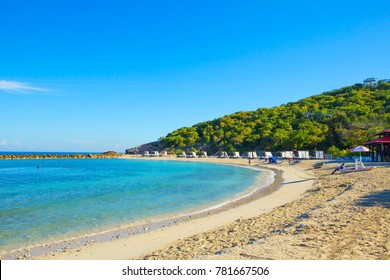Haiti, Caribbean. The beaches of Haiti are some of the very best throughout the world map. It's exotic nature, amazing beauty of coral reefs, hundreds of kilometers of white beaches.