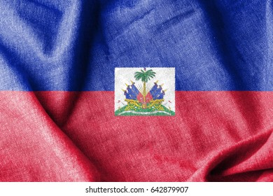 Haiti Cotton Flag