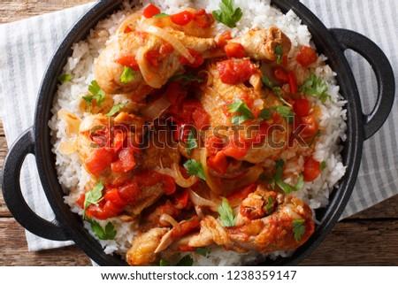 Haitian Chicken Recipe One Pot Chicken Stock Photo Edit Now