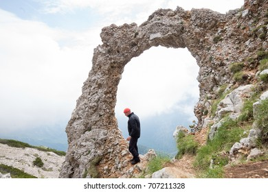 Hajducka vrata, Rebels door, Cvrsnica Mountains, Bosnia