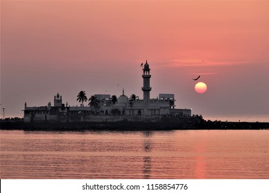 Haji Ali Dargah in Mumbai, India