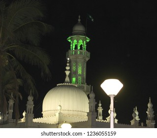 HAji ali dargah at night