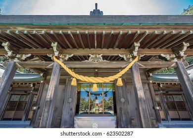 Hakodate Gokoku Shrine (Hakodate gokoku jinja) Shinto shrine located in Hakodate city, Hokkaido.
