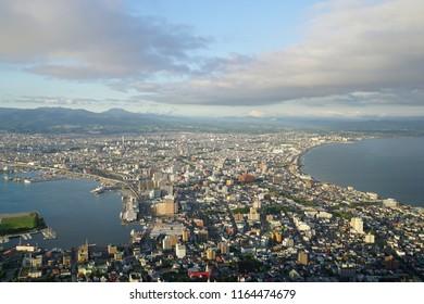 Hakodate mount view, The night view in Hakodate mountain, Hakodate mount