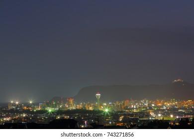 Hakodate night view