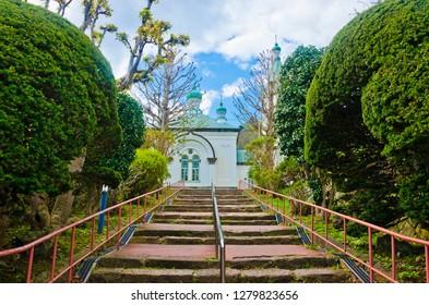 Hakodate Russian Orthodox Church in Hakodate, Japan
