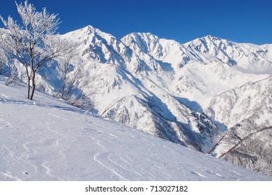 Hakuba Happo-one ski resort  ~  winter