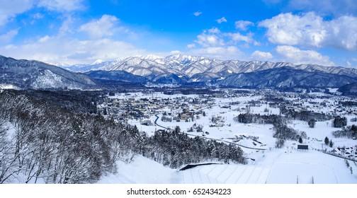 Hakuba Snow Village, Japan.