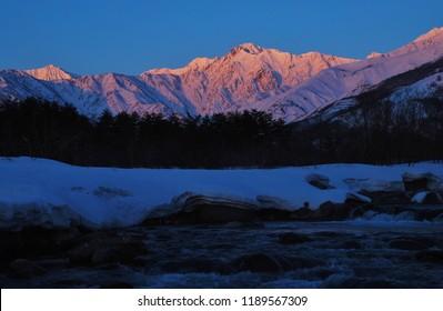 Hakuba valley  ~  early morning