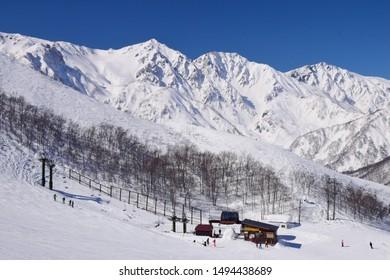 Hakuba valley snow resort, Japan