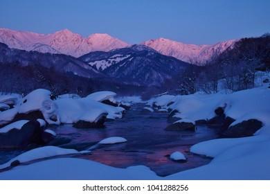 Hakuba village  ~  winter
