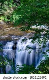 北海道恵庭市の白泉滝