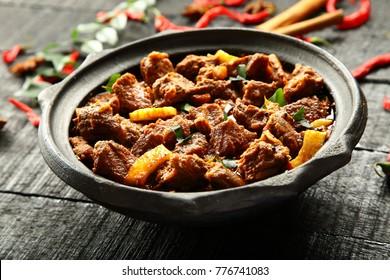 Halal food- Arabic mutton curry