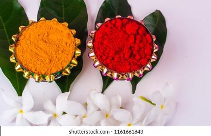 Haldi Kumkum Stock Photos Images Photography Shutterstock