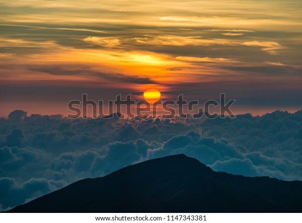 Haleakala Sunrise Hawaii