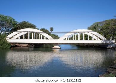 HALEIWA white  Bridge in hawaii