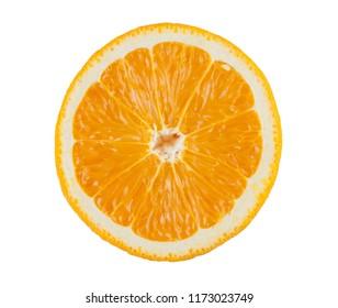 Half cut orange