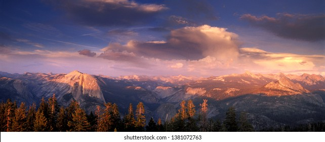 Half Dome from Olmstead Point in Yosemite National Park