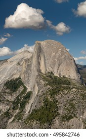 Half Dome in Yosemite National Park from Glacier Point