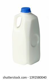 A half gallon bottle of 2% milk.