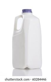 Half gallon jug of milk