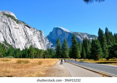 Half Moon Dome, Yosemite National Park, USA.