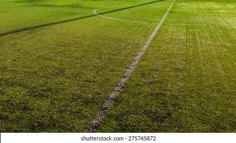 Half soccer field