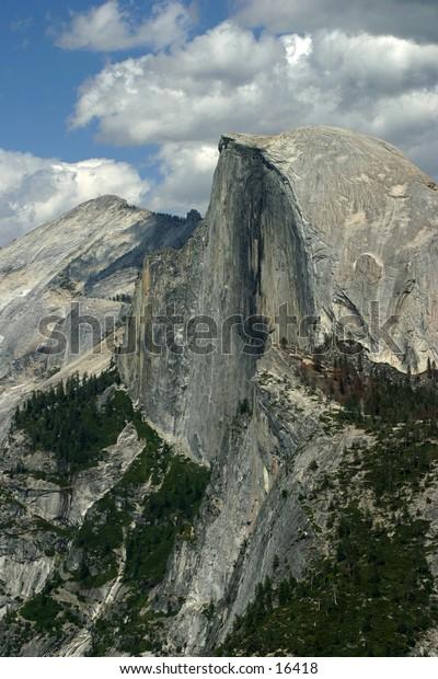 Half-Dome at Yosemite National Park