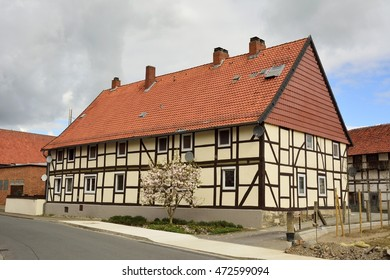Half-timbered building in Germany