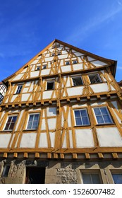 Half-timbered house in Eppingen in Germany