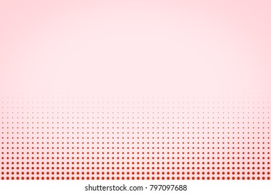 halftone dots. pink and white background. pattern circle