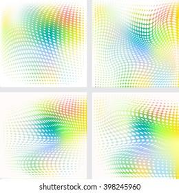 halftone pattern background  illustration