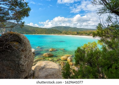 Halfway between Capo Carbonara and Costa Rei, in the territory of Castiadas, you will find a small corner of paradise: Cala Pira beach
