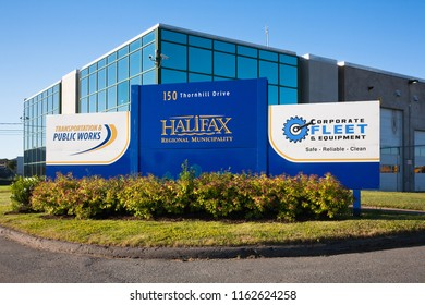 HALIFAX, CANADA - JULY 3, 2016: Halifax Regional Municipality or HRM building. Halifax is the major economic centre of Atlantic Canada including Nova Scotia.