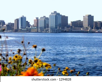 Halifax Harbour City Skyline