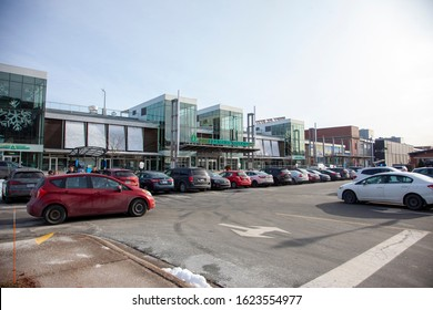 Halifax, Nova Scotia: December 22, 2019 - the Seaport Farmers Market downtown Halifax on a Sunday afternoon