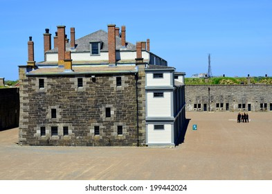 HALIFAX  NOVA SCOTIA JUNE 4: Cavalier Building Fort George a fortified summit of Citadel Hill, a National Historic Site of Canada in Halifax  JUNE 4, 2014, at Halifax Citadel, in Nova Scotia, Canada,
